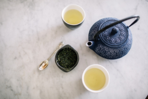 Tea with teapot